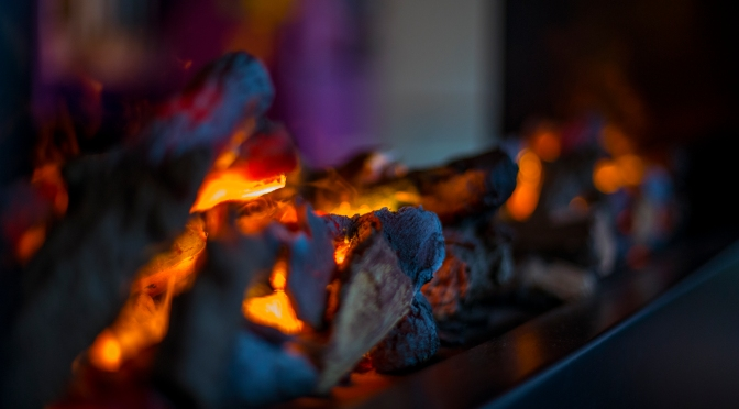 Picture of the day: At the fireplace