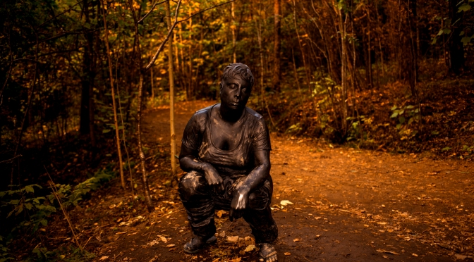 Picture of the day: Woman statue in Ekebergsparken, Oslo