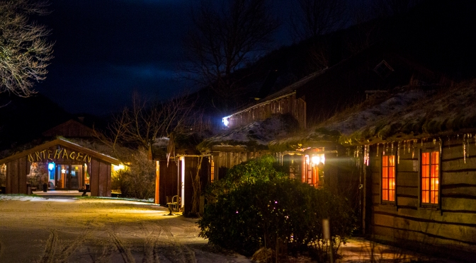 Picture of the day: Snowy night